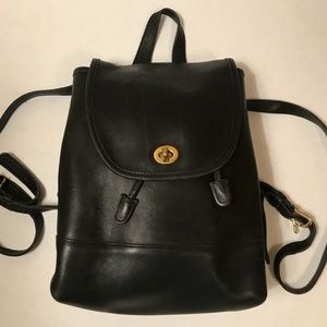 Coach Bags - Coach | Vintage Leather Backpack